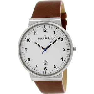 Skagen SKW6082 Ancher Men's Brown Leather Band